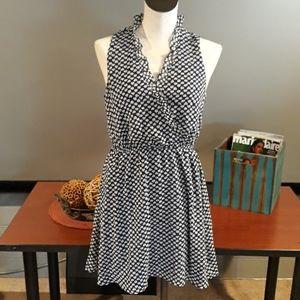 Adorable Blue/White Forever 21 Dress. Medium
